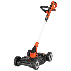 Black and Decker 3-in-1 Mower, Edger, and String Trimmer