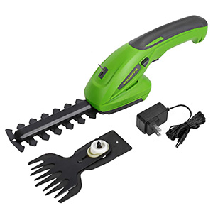 WorkPro Cordless Grass Shear and Shrubbery Trimmer