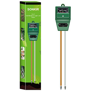 Sonkir Soil 3-in-1 pH Meter