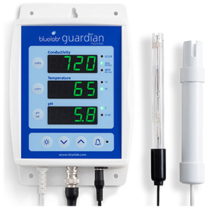 Bluelab MONGUA Guardian Monitor for pH, Temperature, and Conductivity Measures